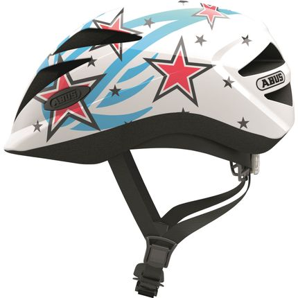Abus helm Hubble 1.1 white star S 46-52