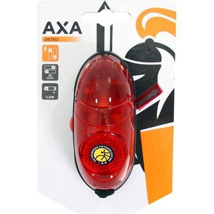 Axa a licht Retro rood