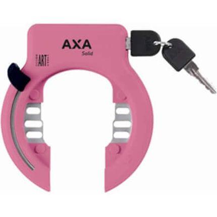 Axa ringslot Solid XL roze