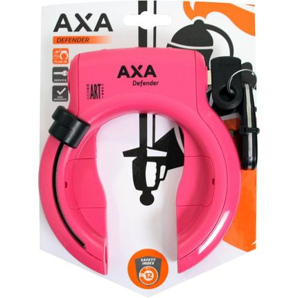 Axa ringslot Defender roze
