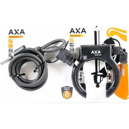 SLOT AXA RING SOLID PLUS + KETT NEWTON PI150 ZWART
