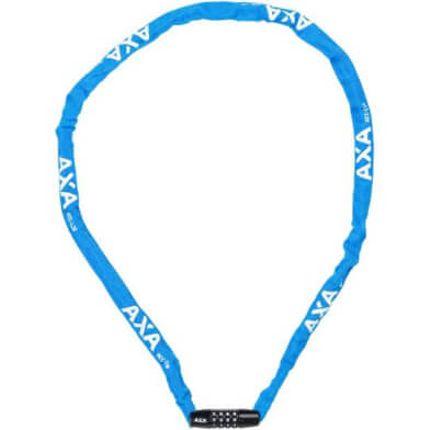 Axa cijfer kett slot Rigid 120 blauw