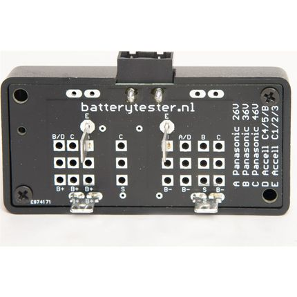 Batterytester adapter Sparta / Batavus E-motion