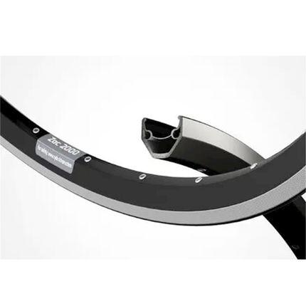 Ryde velg 28 ZAC2000 zwart 24.6mm 36/14