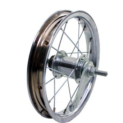 HB achterwiel 12 remnaaf chroom zink spk