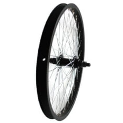 voorwielfreestyle 48spk 14mm as zwart
