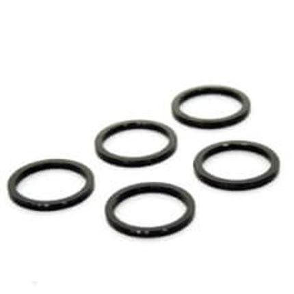 zak Spacer 1 inch 3mm zwart
