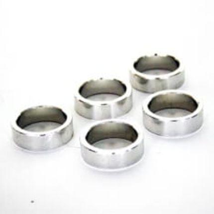zak Spacer 1 1/8 10mm aluminium zilver