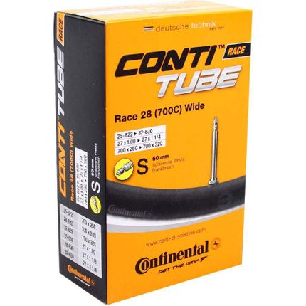 Continental binnenband Race 28 (700C) Wide 28 x 1 - 1 1/4 fv 60mm