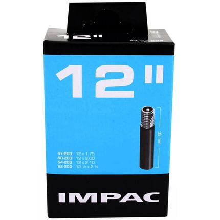 Impac binnenband AV12 12 x 1.75 - 12 1/2 x 2 1/4 av 35mm