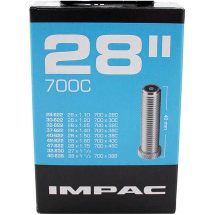 "Impac binnenband 28"" 28/47-622/635 schrader av 40m"