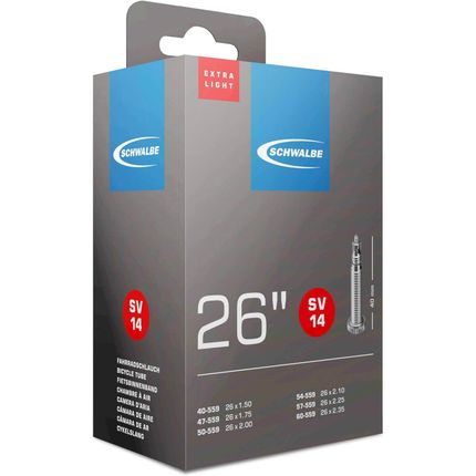 Schwalbe binnenband 26 breed Light fv (SV14)