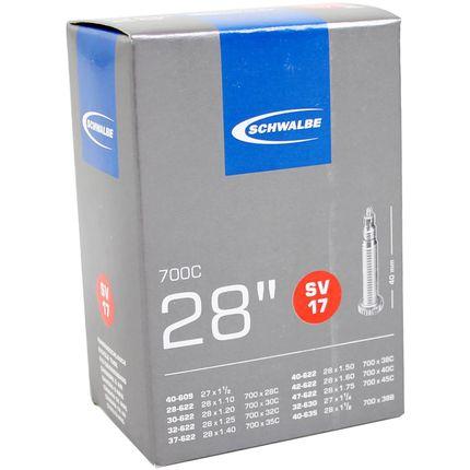 Bib 28x1 1/8-1 1/2 frans 40mm schwalbe 28/47-622/6