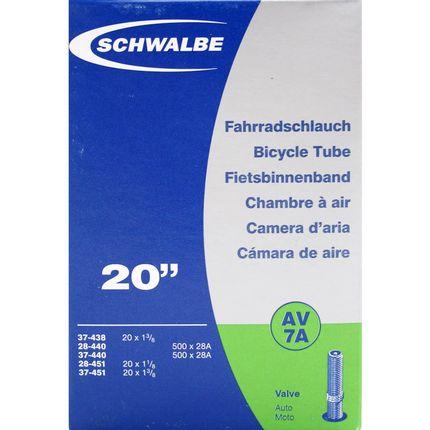Schwalbe binnenband 20 smal av (AV7A)