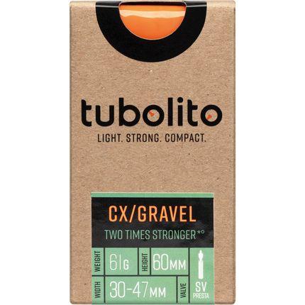 Tubolito binnenband Tubo CX/Gravel All 700c 30 - 47mm fv 60mm