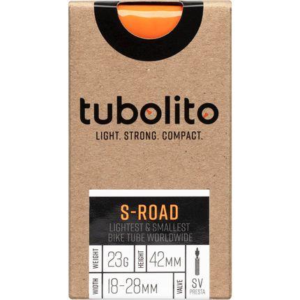 Tubolito binnenband S-Road 700c 18 - 28mm fv 42mm