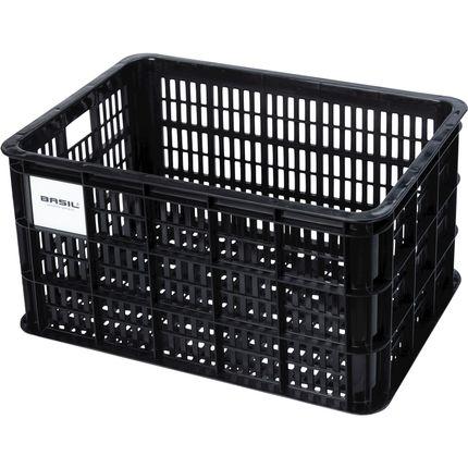 Basil transport krat L groot zwart