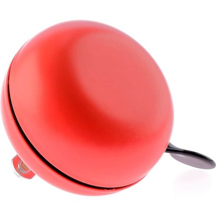 Fietsbel Ding Dong Bourgonje Red 80 mm - mat rood