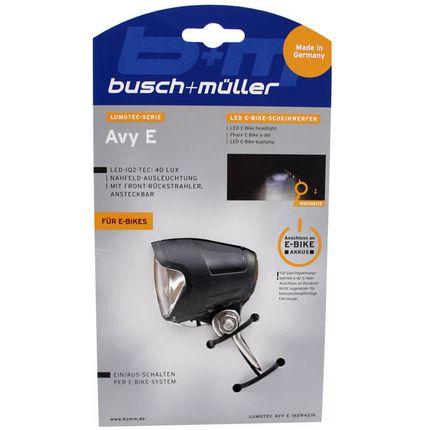 Busch & Muller koplamp Avy E-bike 6-42v 40 lux