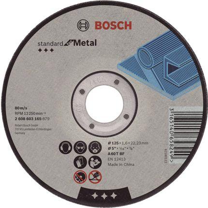 Bosch Prof doorslijpschijf recht metaal 125 mm