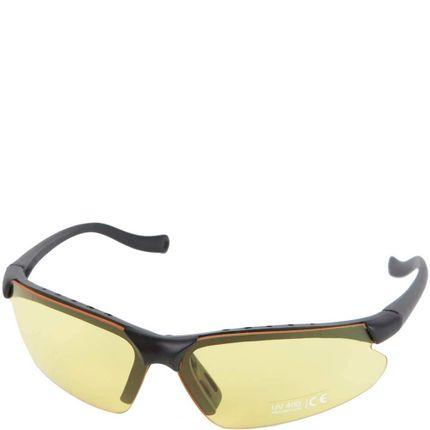 Elite bril+ tas geel sm en blank glas