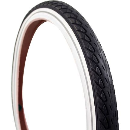 Deli Tire buitenband SA-206 20 x 1.75 zw/wit refl