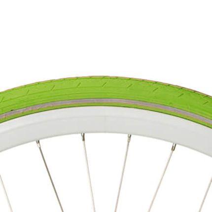 Deli buitenband 28x1 1/2 R groen