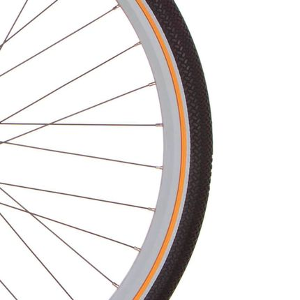 Cortina buitenband Canberra 28 x 1.75 zw/oranje refl