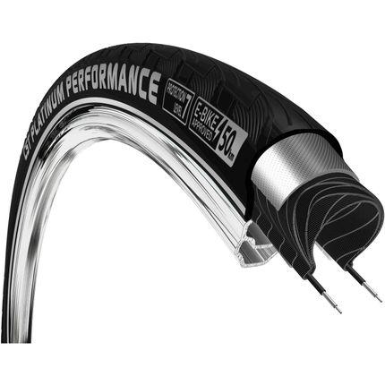 CST buitenband 28x1 3/8 Platinum Perf R zwart