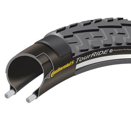 28x1 1/2 (42-635) Ride Tour zwart RS 0101166 Continental