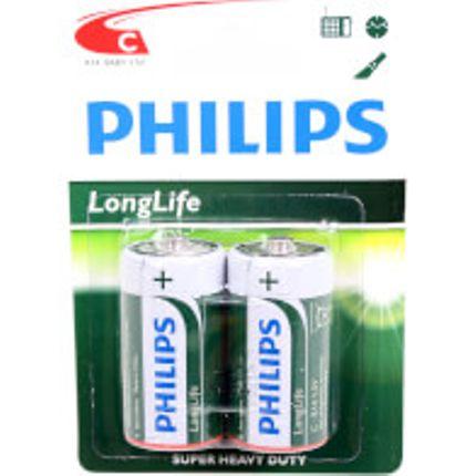 Philips batt R14 1,5V krt (2)