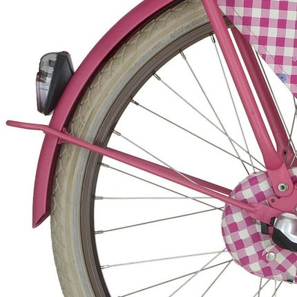 lief! achterspatbord stang 26 roze