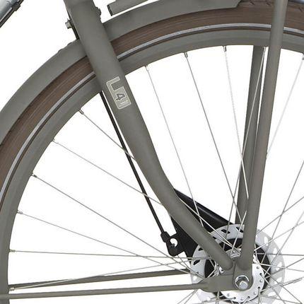 Cortina voorvork U4 H quaroze grey matt