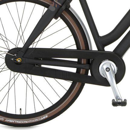 Cortina achterwielkast Xcero sapphire black matt