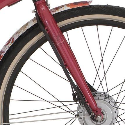 Cortina voorvork 28 Ecomo Roots rood
