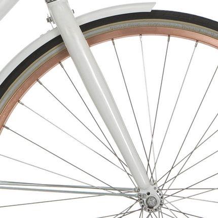 Cortina voorvork 28 Azero p wit
