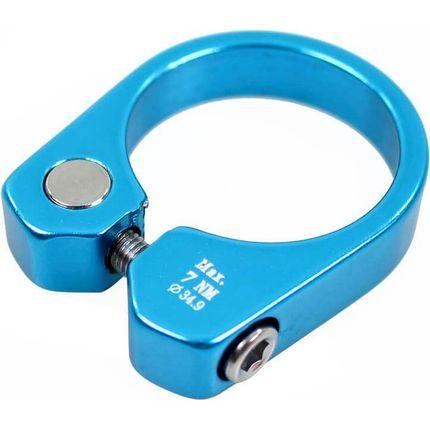 Cortina zadelpenklem 34.9 blue