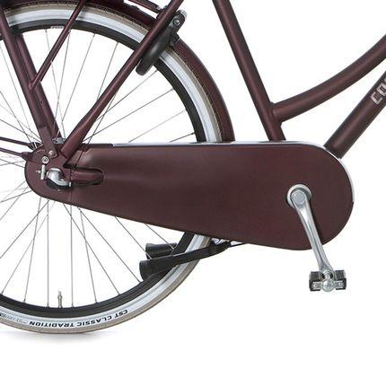 Cortina achterwielkast Nostalgia teak brown matt