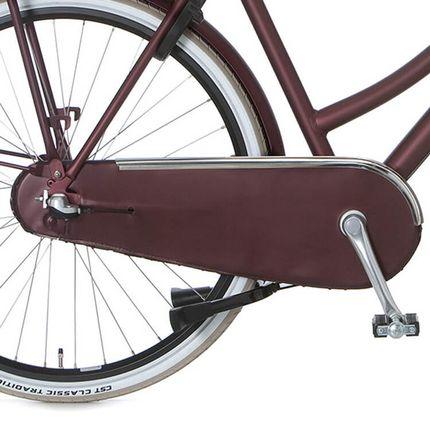 Cortina achterwielkast lak U4 teak brown matt