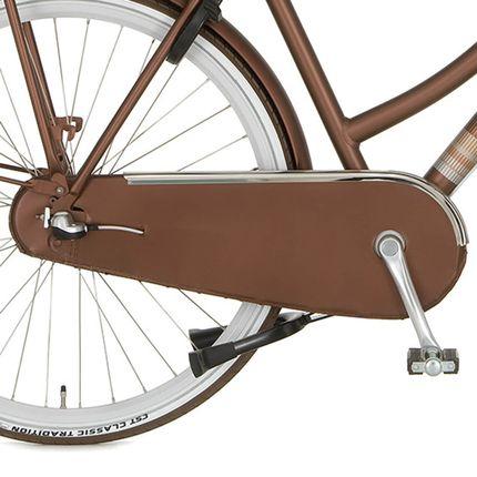 Cortina achterwielkast lak U4 sparkle brown matt