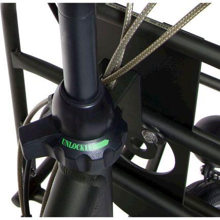 Cortina balhoofd set CH2900BW+lockset nosecap 45 black