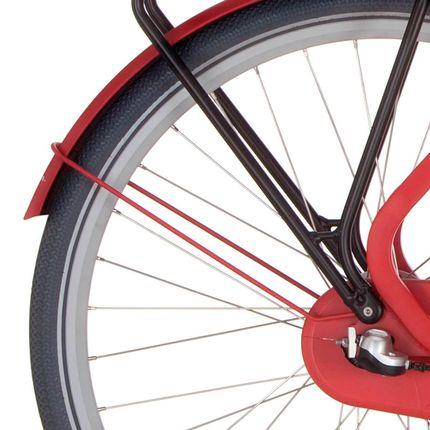 Cortina achterspatbord stang 28 Common true red matt