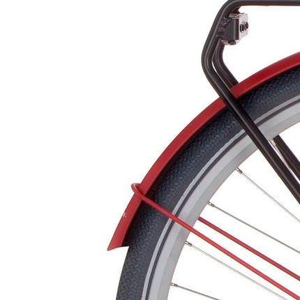 Cortina achterspatbord 28 Common true red matt