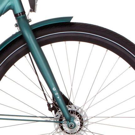 Cortina voorvork Speed RB matt beryl green