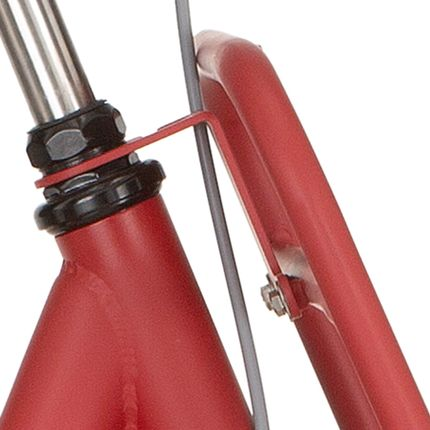 Cortina balhoofd beugel voordrager 26 M True red matt