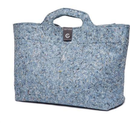 Cortina Sofia Shopper bag Recycled Denim Blue