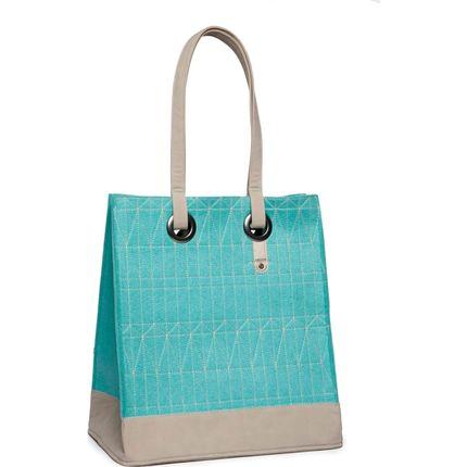 Cortina Minsk Basket Bag felt Azure Blue