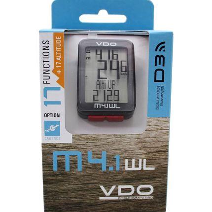 VDO fietscomp M4.1 digitaal draadl