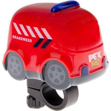 """Fietsbel met sirene en zwaailichten """"brandweerauto"""