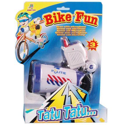 Bike Fun sirene Politie met micro